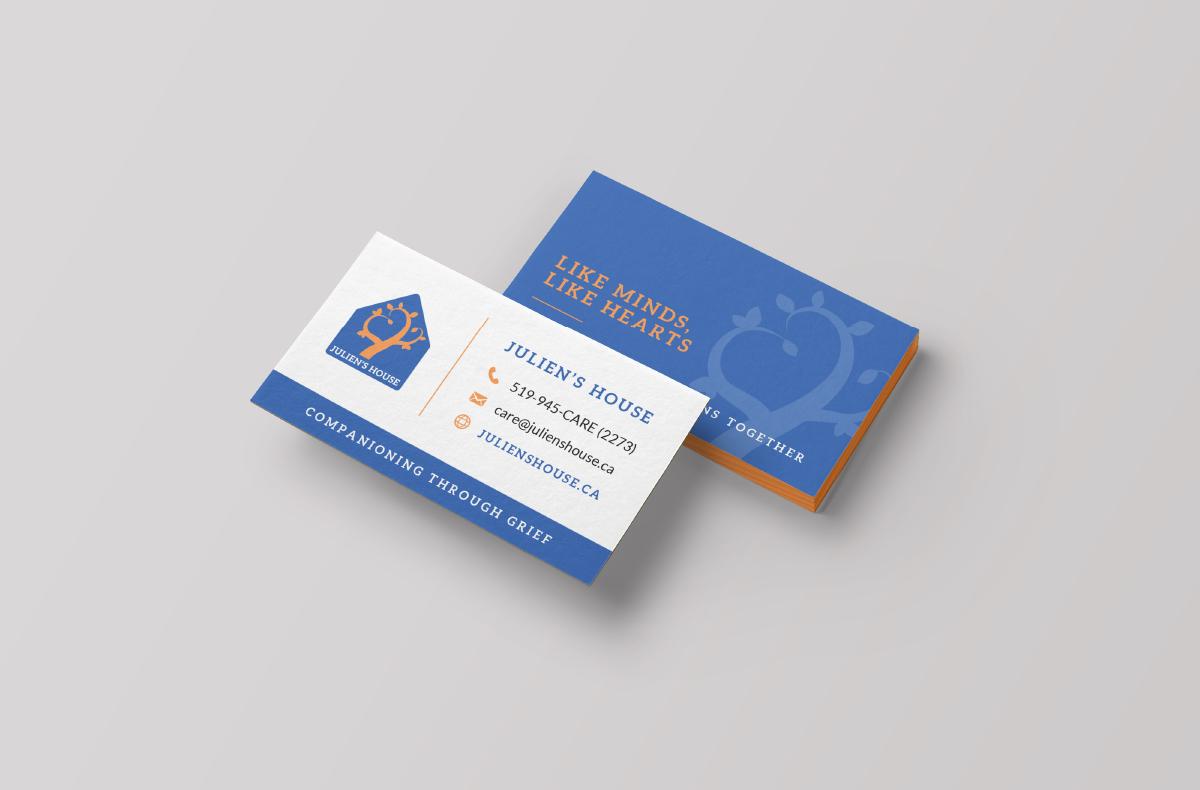 Julien's House Business Card